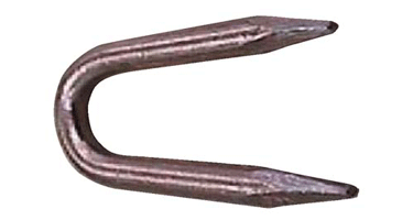 Image of Galvanized and Copper Coated Staple