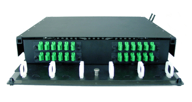 Image of 2 Rack Unit Patch and Splice Panels
