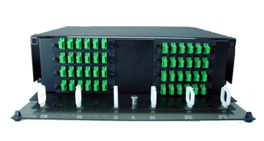 Image of 3 Rack Unit Patch and Splice Panels