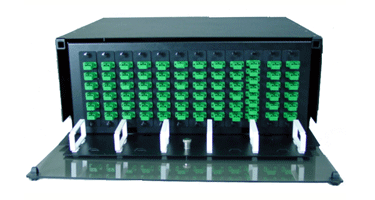 Image of 4 Rack Unit Patch and Splice Panels