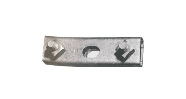 Image of 3 Bolt Cable Suspension Straight Clamp