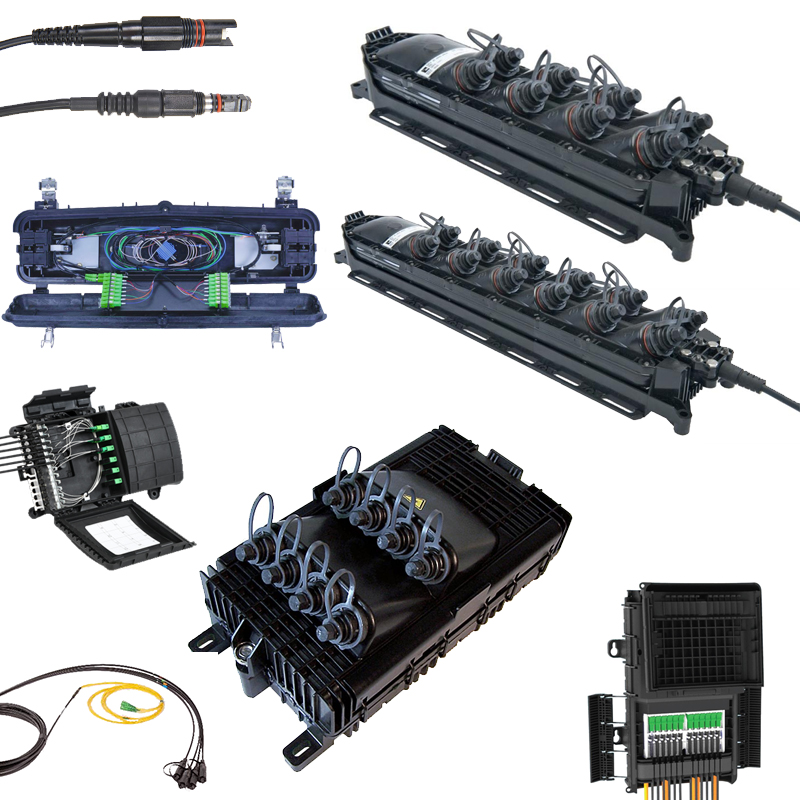 Fiber Terminals and Drop Assemblies