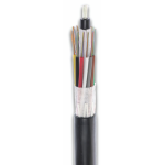 Image of 12 Count Single-Mode Loose Tube Armored Fiber Optic Cable (small)