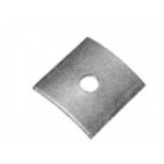 """Image of 5/8"""" X 2-1/2"""" Square Curved Washer (small)"""