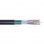 Image of 144 Count Single Mode Loose Tube Armored Fiber Optic Cable (small)