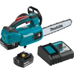 """18V LXT® Lithium-Ion Brushless Cordless 10"""" Top Handle Chain Saw Kit (5.0Ah)"""