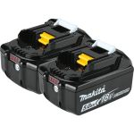 18 Volt 5.0 Ah LXT Lithium-Ion Battery 2-Pack