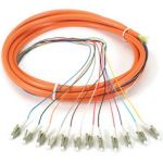 Multi Mode 50 LC 12 Count Fiber 900um Pigtail