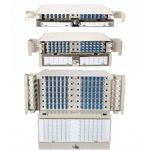 5RU 288 Port SM LC-UPC FPX Patch and Splice Panel With Stranded Pigtails and Trays