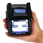 Type QH201E-VS Quantum Handheld Fusion Splicer Kit With Hard Case Holders and FC-6RS-C Auto Cleaver