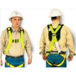 YELLOW BODY HARNESS SMALL-MEDIUM SIZE