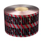 "6"" x 1000' Detectable Electric Marking Tape"