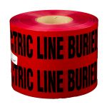"6"" X 1000' Electrical Caution Tape"