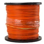 Image of #12 Solid Copper Clad Steel Tracer Wire High Strength PE30 Orange, 2500' Spool