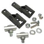 PLP 800382 Coyote Low Count Closure Aerial Mounting Bracket Kit Strand Mount