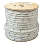 """7/8"""" DOUBLE BRAIDED CABLE PULLING ROPE - 1200'"""