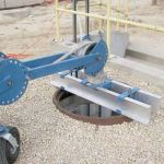 """6"""" Plate for Manhole Adapter"""