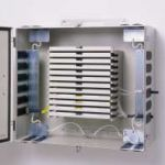 Fiber Optic Entrance Cabinet 12 Drawers Wall Mounted
