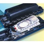 FOSC 600D-XL Splice Closure for Rollable Ribbon 8 Ports 6 Trays 864 Splices