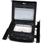 OFDC-C12 12 Port Patch Closure with Splice Trays No Adapters