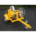 Sidewinder Trailer-Mounted Fiber Optic Puller with 42In Capstan