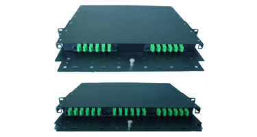 Image of 1 Rack Unit Patch and Splice Panels