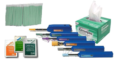Image of Fiber Optic Cleaning Supplies