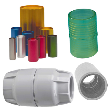 Image of Reverse Thread Plastic Coupler