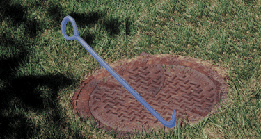 Image of Manhole Cover Lifting Hooks