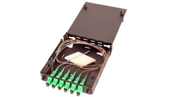 Image of 6 Port Mini Patch and Splice Panel